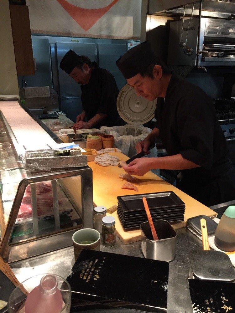 Naruke Matsumoto working at Hirozen