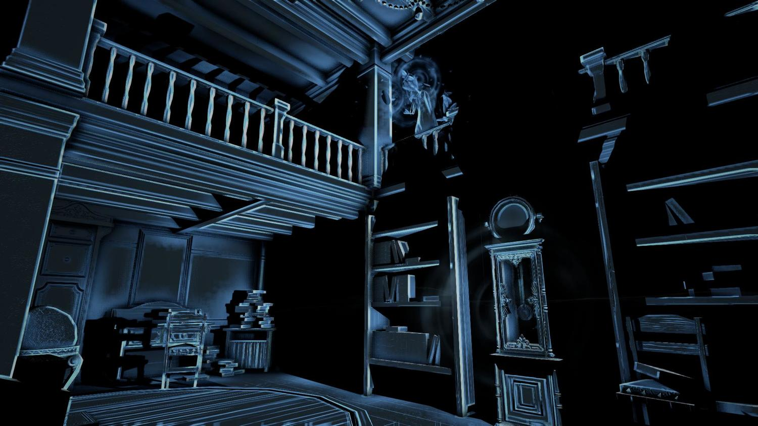 Perception is a sound-based game of hide-and-seek