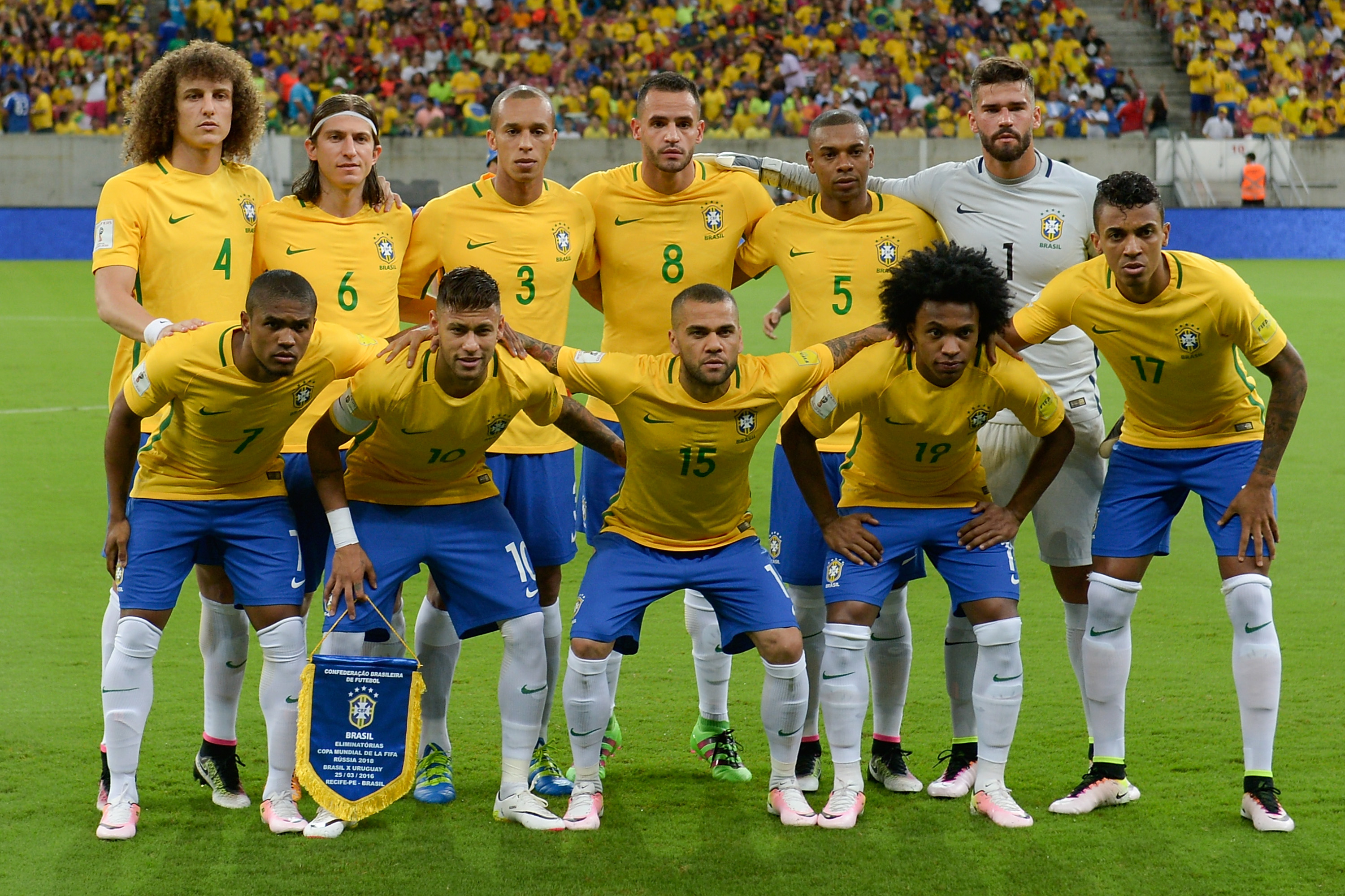 Willian and Brazil, Miazga and USA give up leads and settle for draws