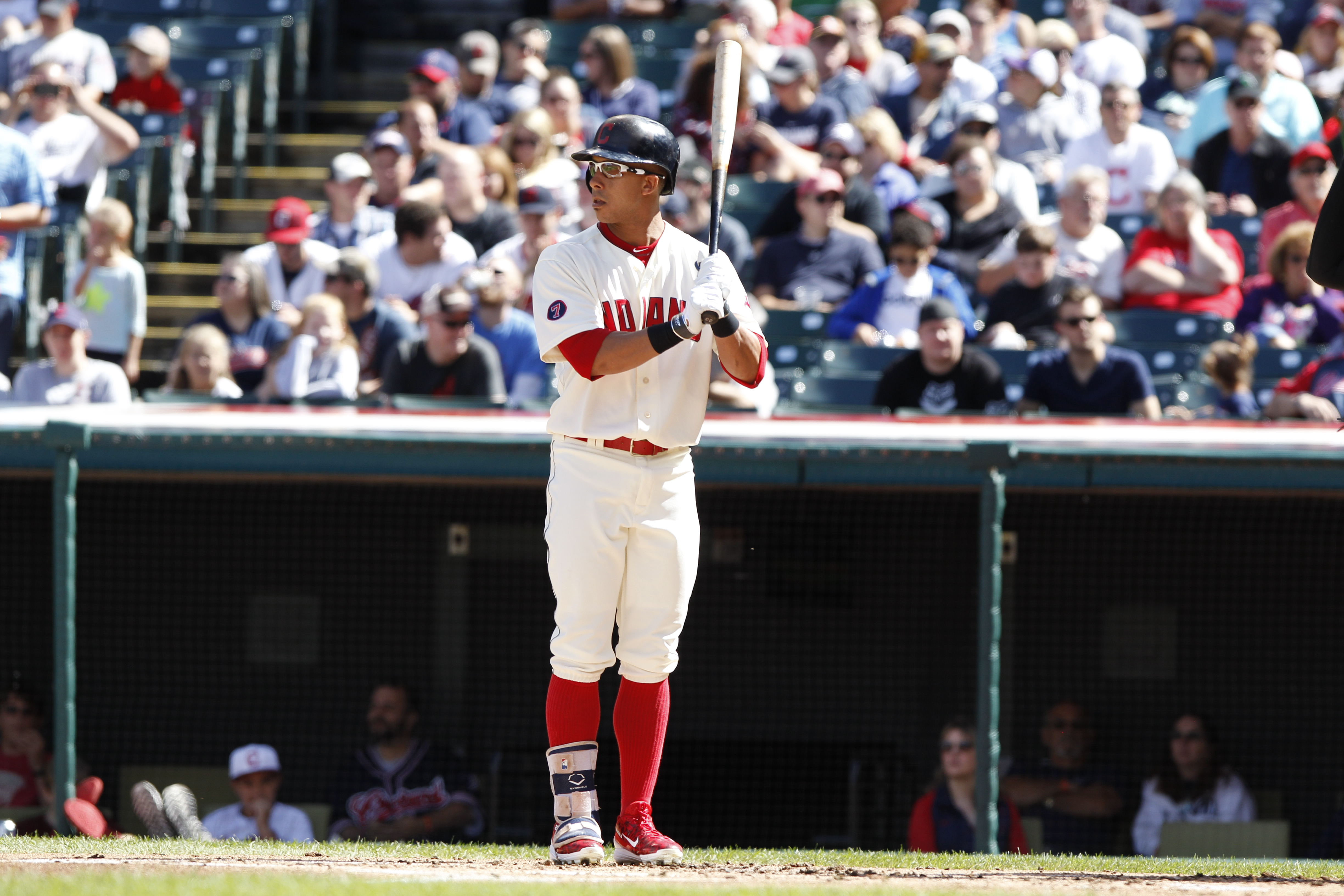 Michael Brantley will not be on the roster Opening Day.