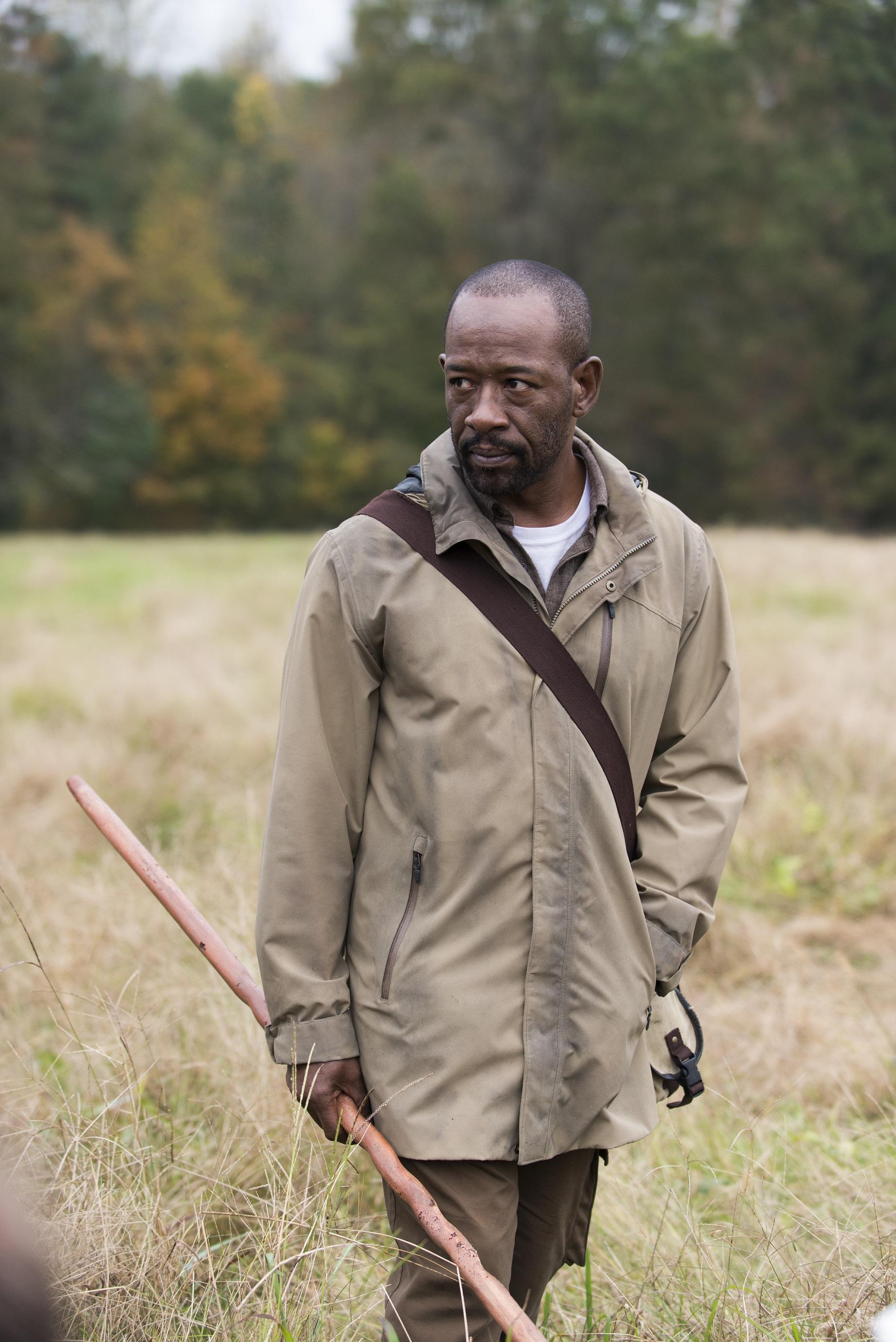 Lennie James on The Walking Dead