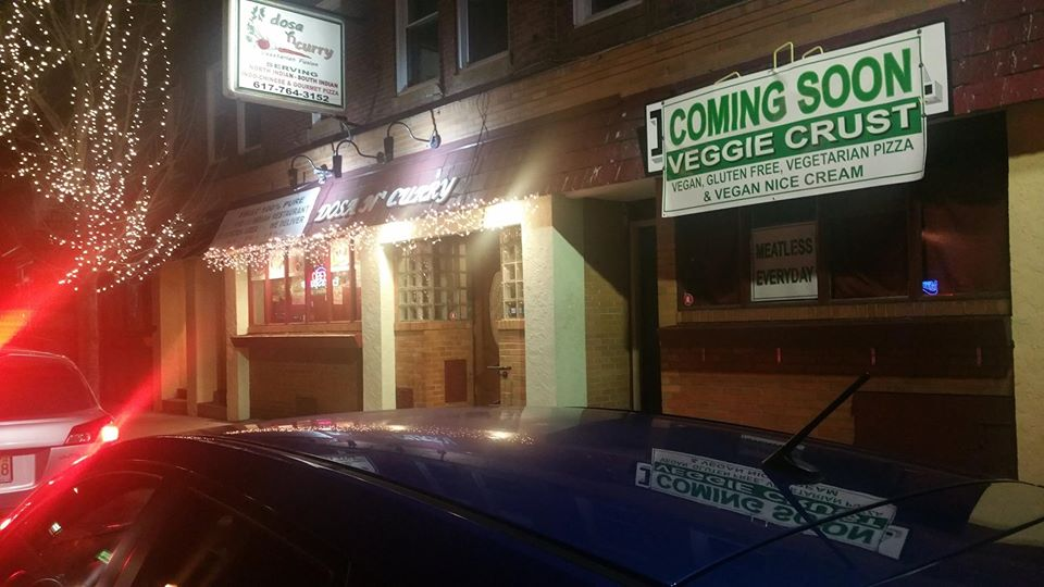 Dosa N Curry is expanding next door with Veggie Crust