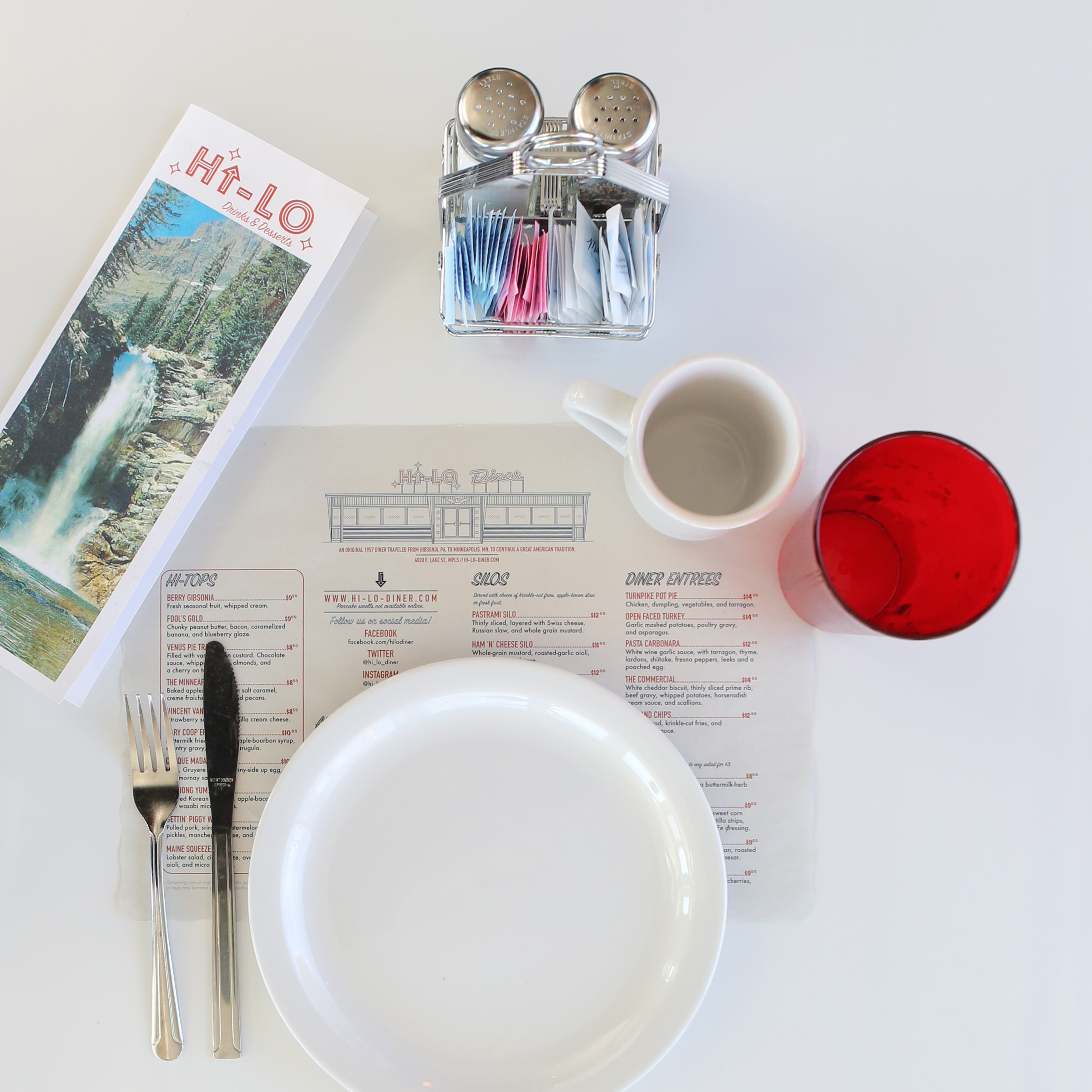 Hi-Lo Diner is ready and waiting for you.