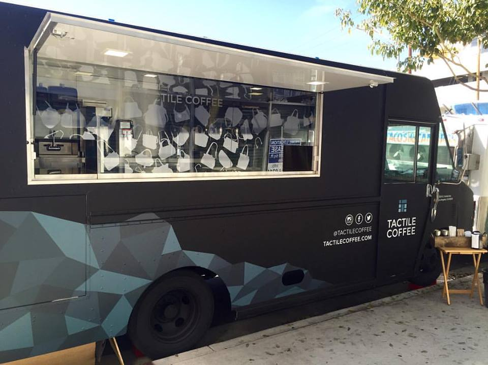 Tactile Coffee Is Downtowns Fantastic New Mobile Espresso Truck