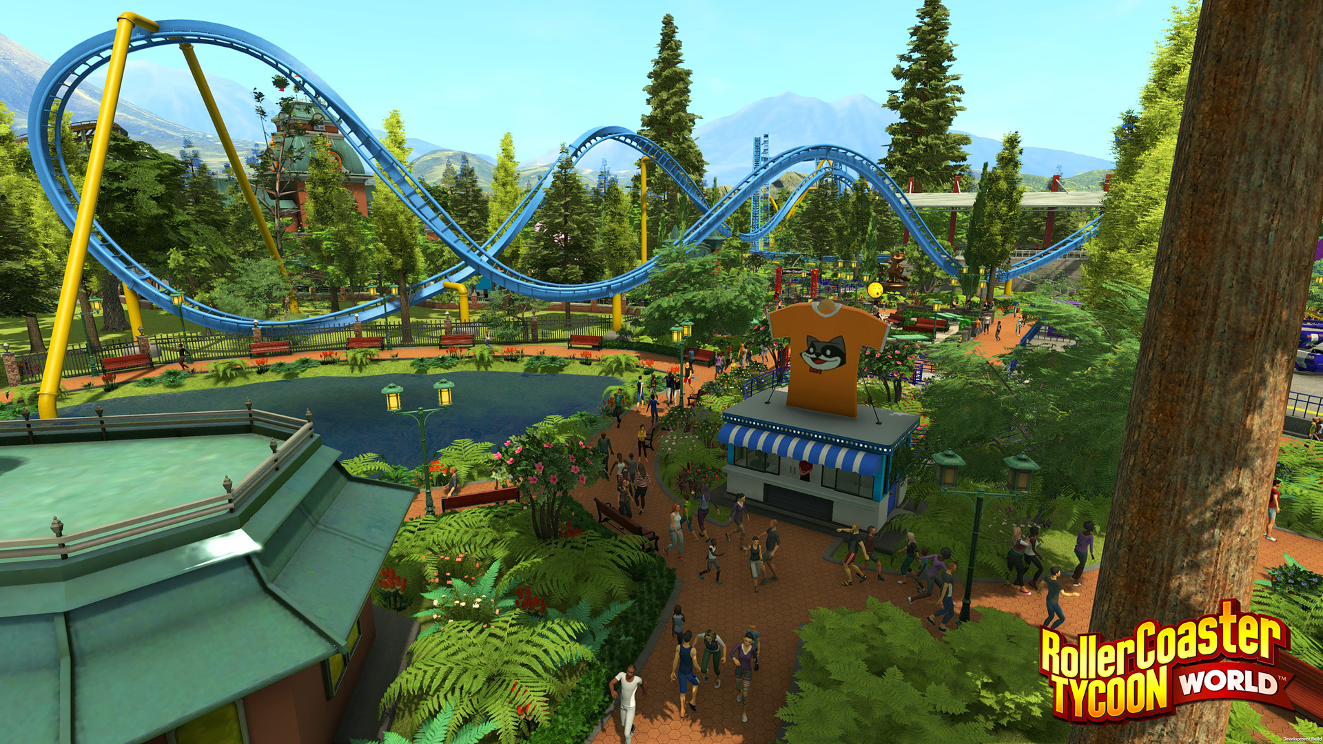 RollerCoaster Tycoon World's focus on freedom makes it exciting