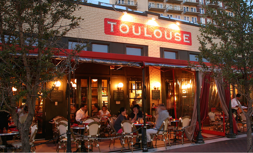 Scope Out The Menu For Toulouse Houston