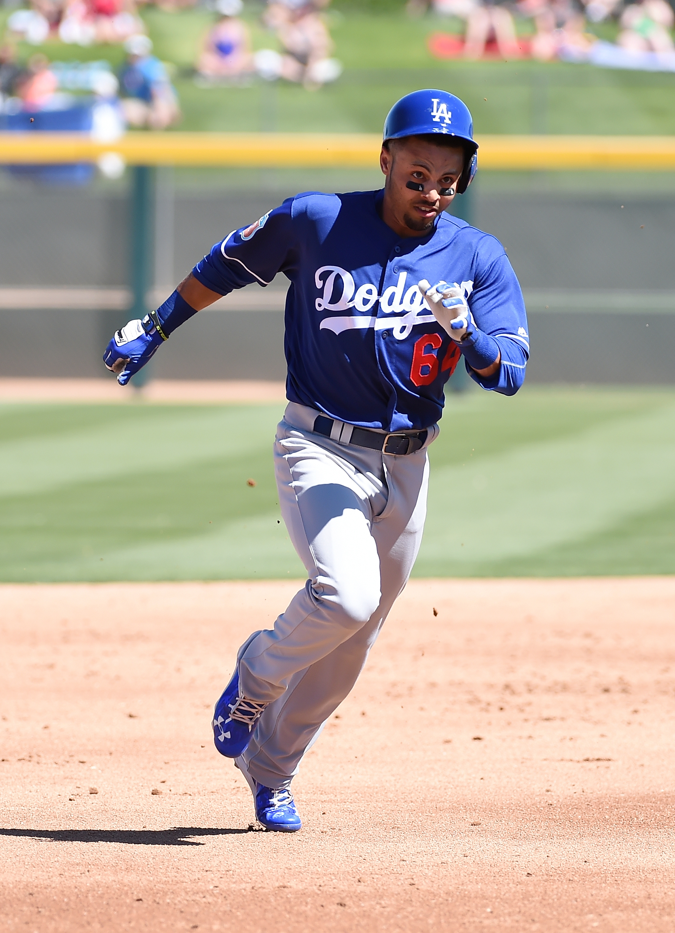 Rico Noel won't be joining the Dodgers for the Freeway Series.