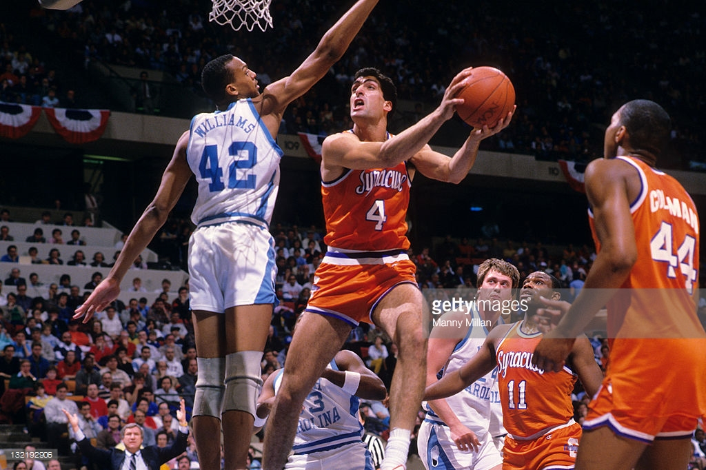 Rony Seikaly led the way in Syracuse's 1987 East Regional Final victory