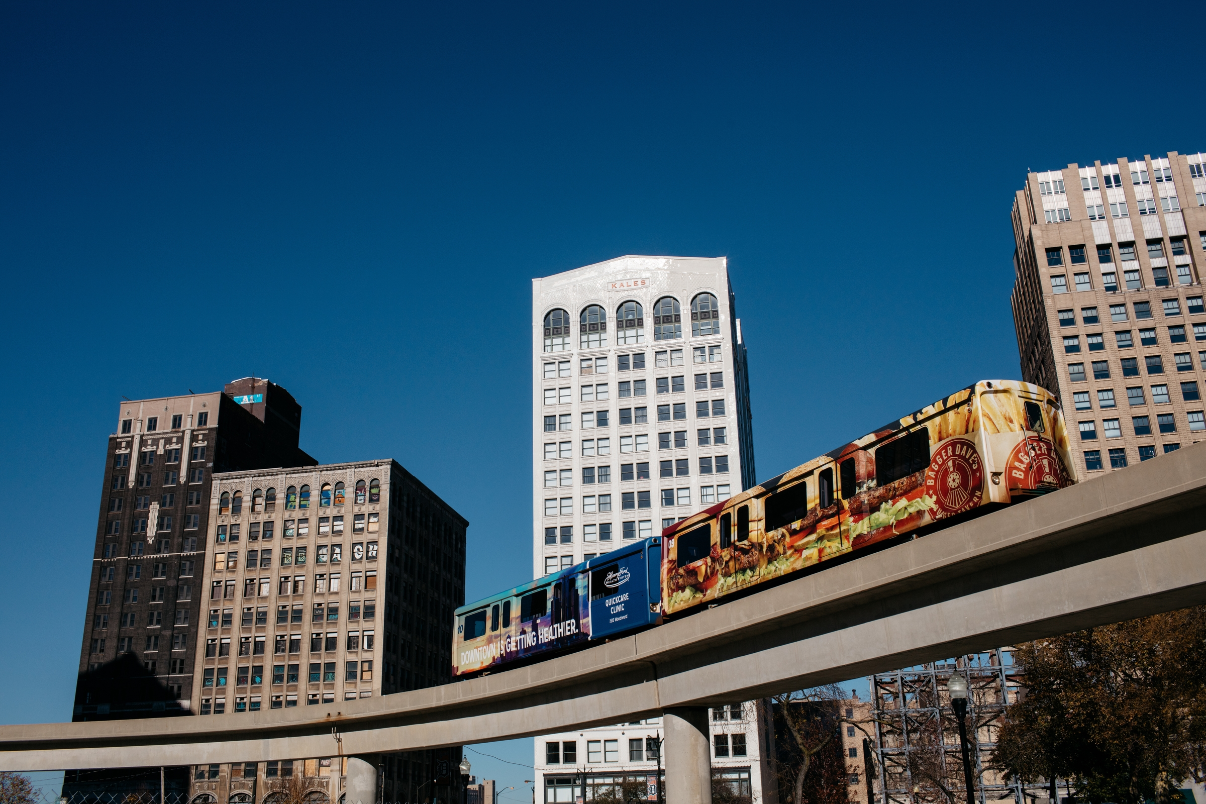 The Detroit People Mover