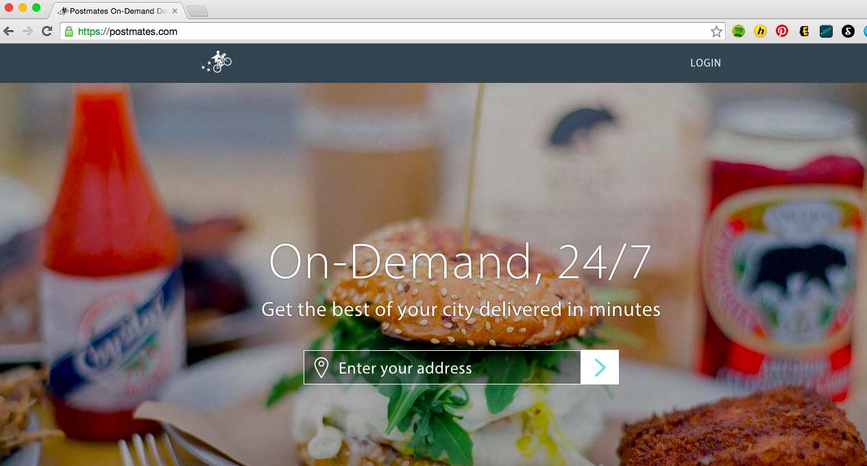 Delivery App Postmates Rolls Out Amazon Prime-Style Service for $9.99 a Month