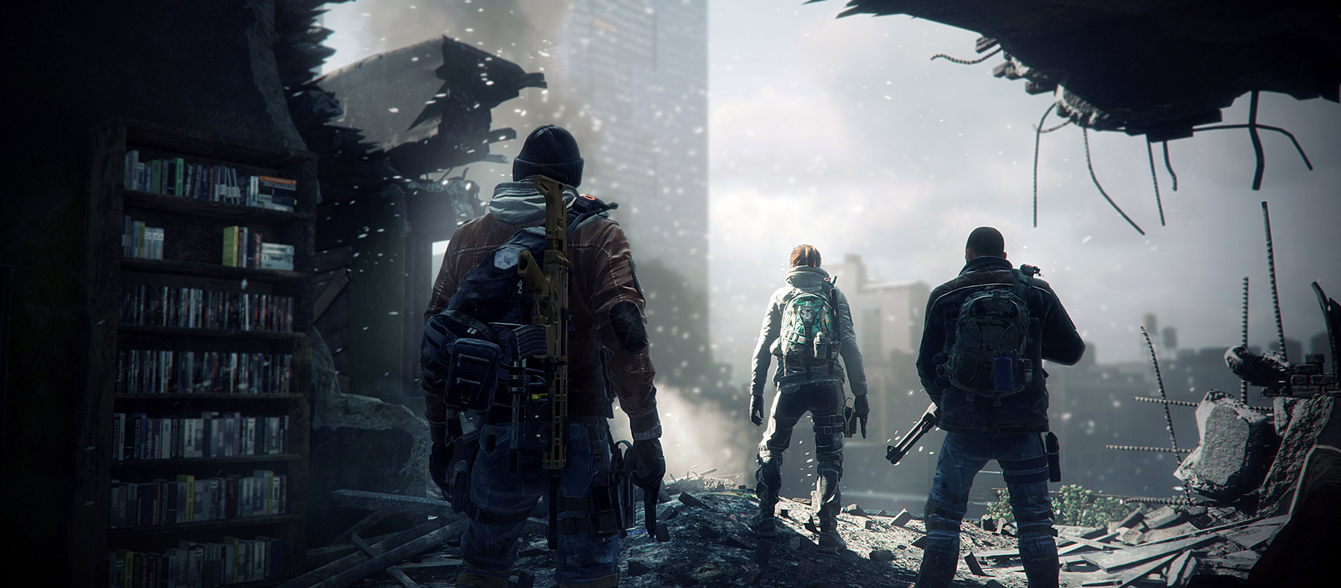The Division's first free add-on hits April 12, adds new endgame raid and loot-trading