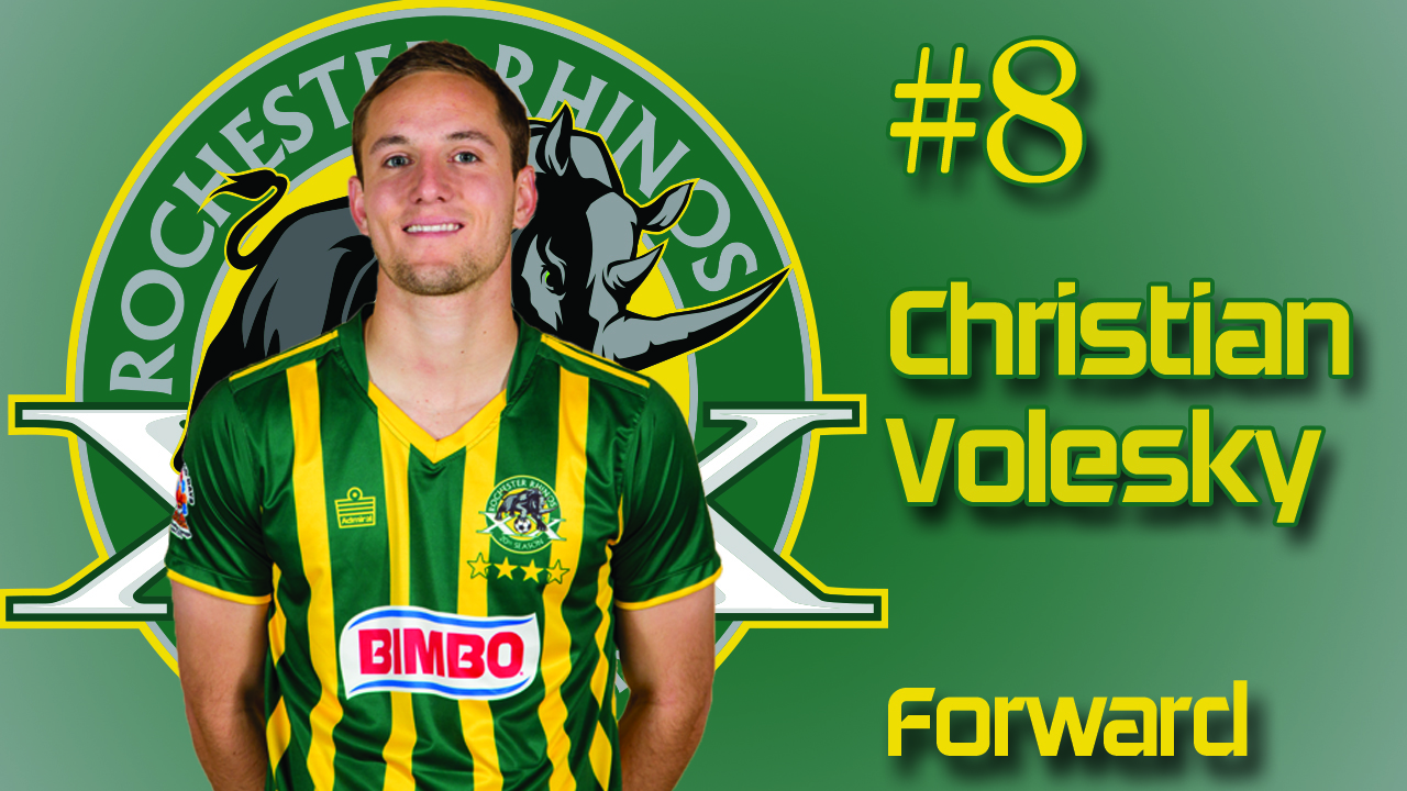 The second-year Rhinos forward scored an impressive chip in the 7th minute for the game's only goal
