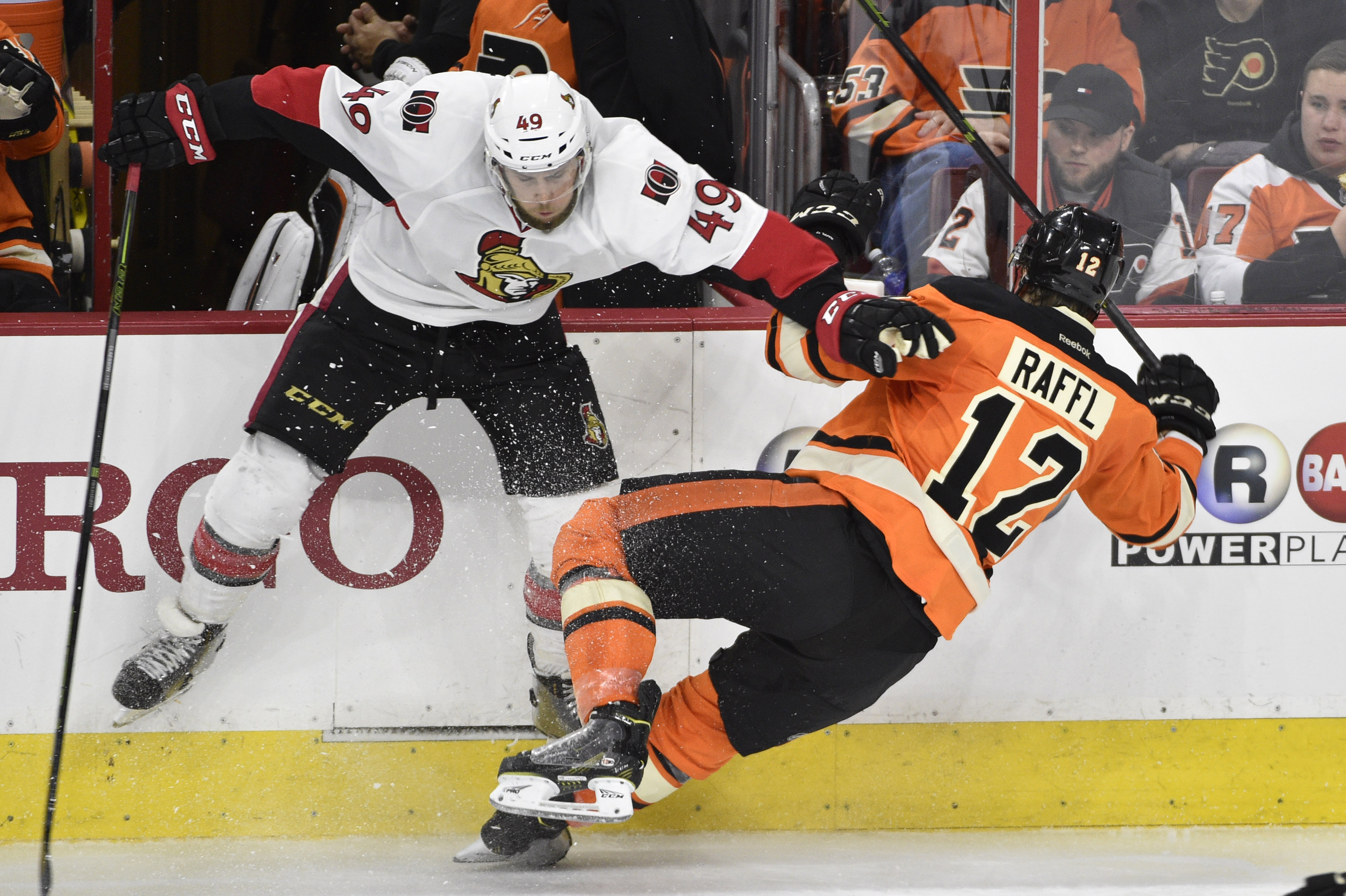 Claesson's up and Raffl's down in this photo