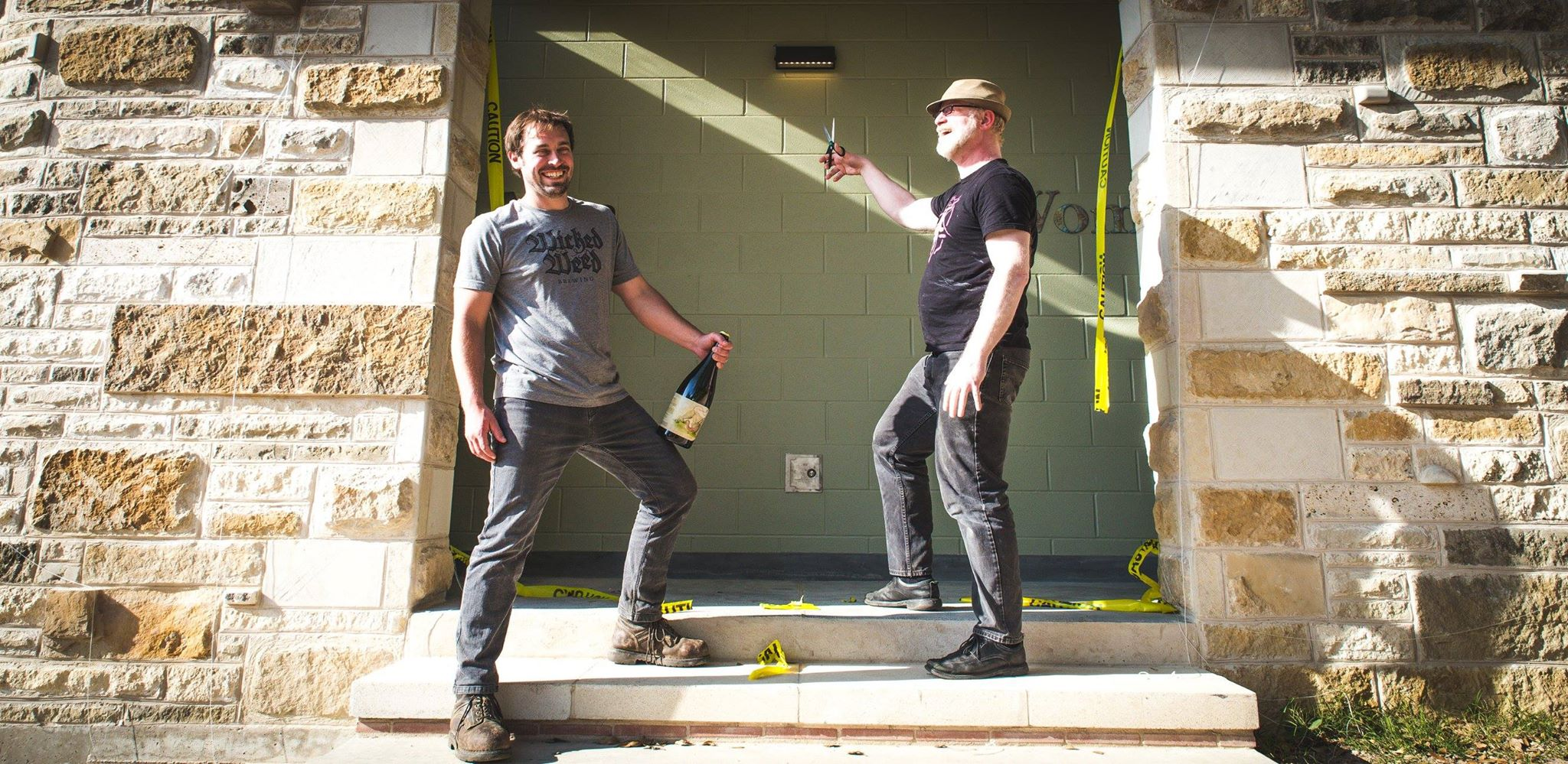 Jester King Brewery's new bathrooms