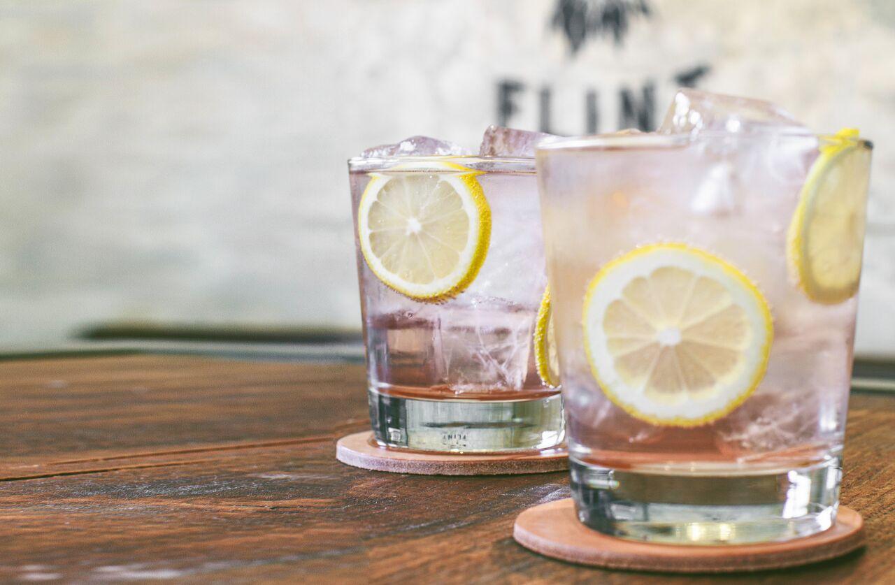 Eight Row Flint's Tequila y Tonic.