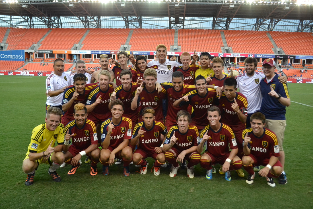 In pictures and video: RSL U-16s win national championship
