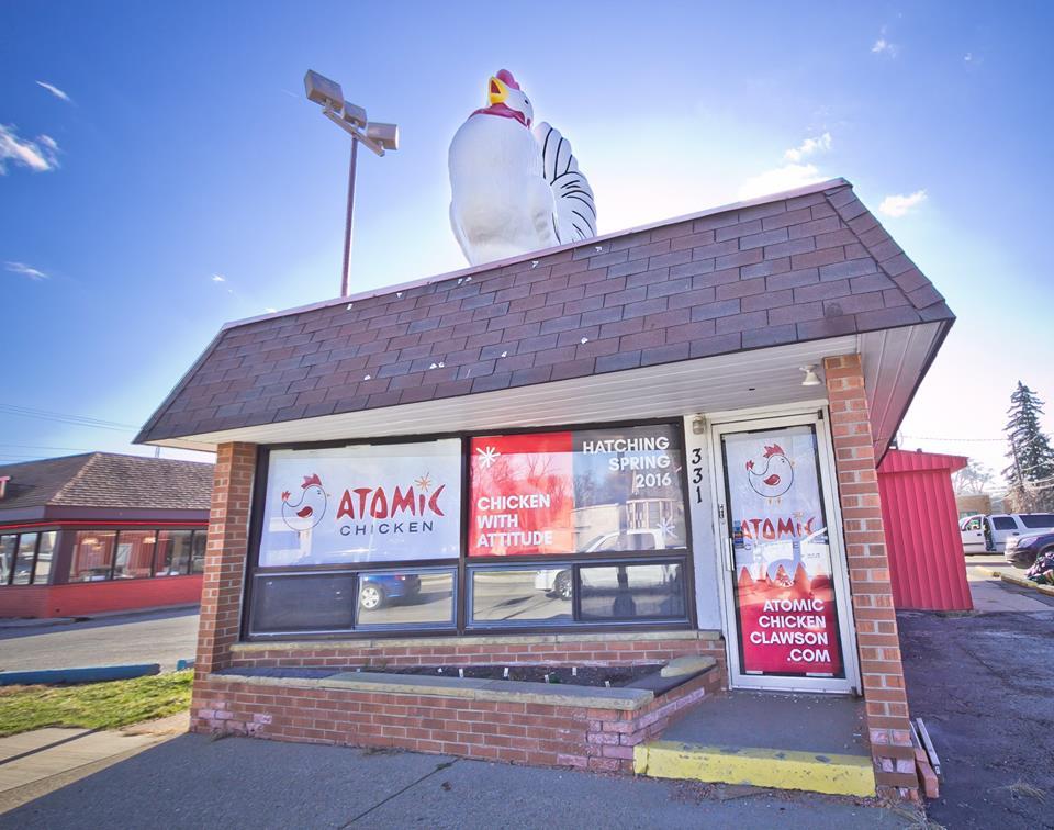 Atomic Chicken Clawson.
