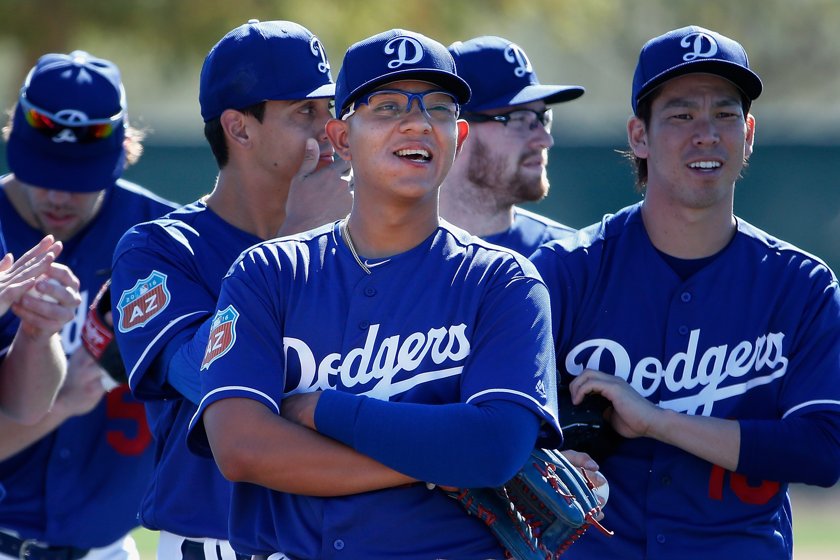 Julio Urias highlights the Triple-A Oklahoma City Dodgers opening day roster.