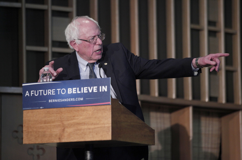 Bernie Sanders Attends Community Forum In Flint On Water Crisis