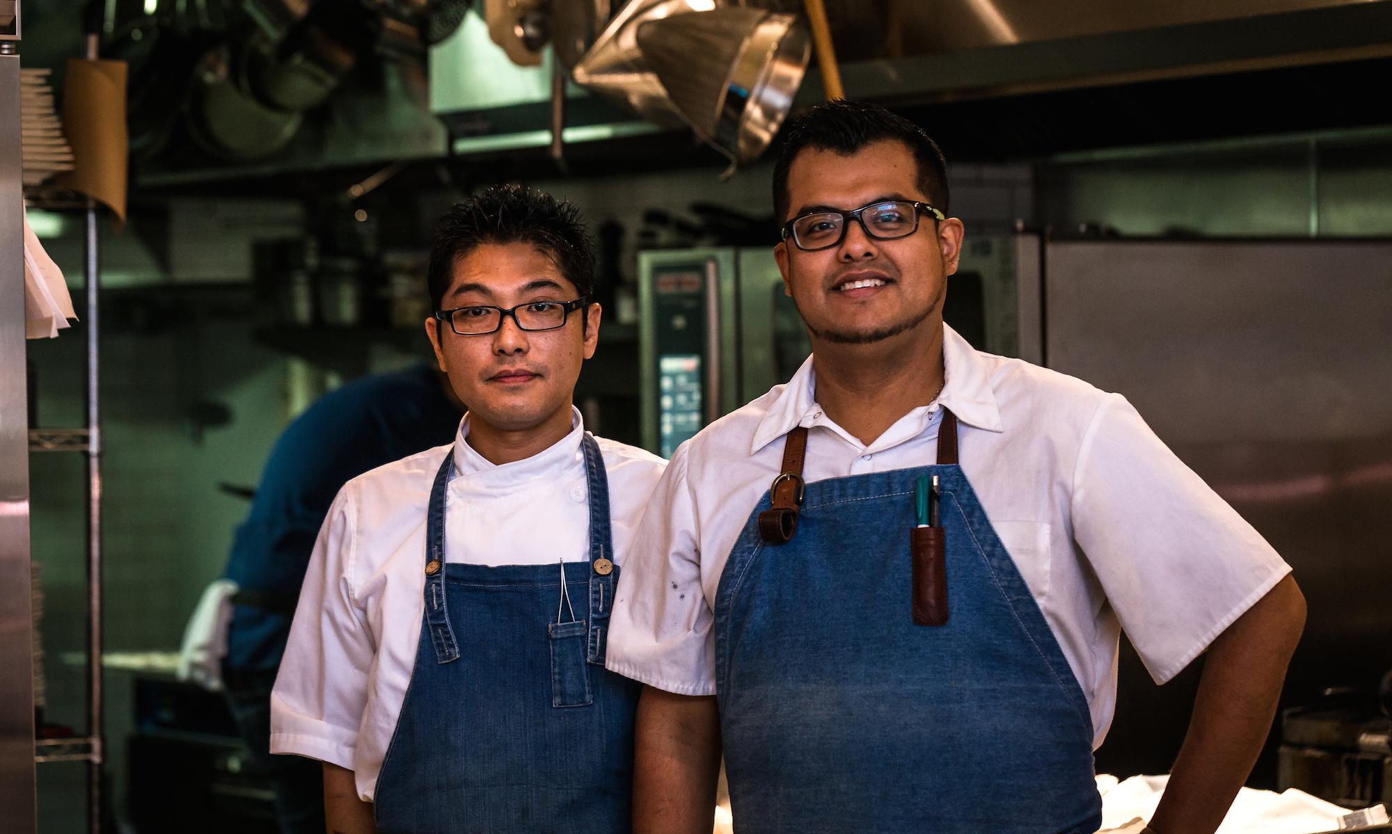 More kudos for chefs Horinoue and Posada