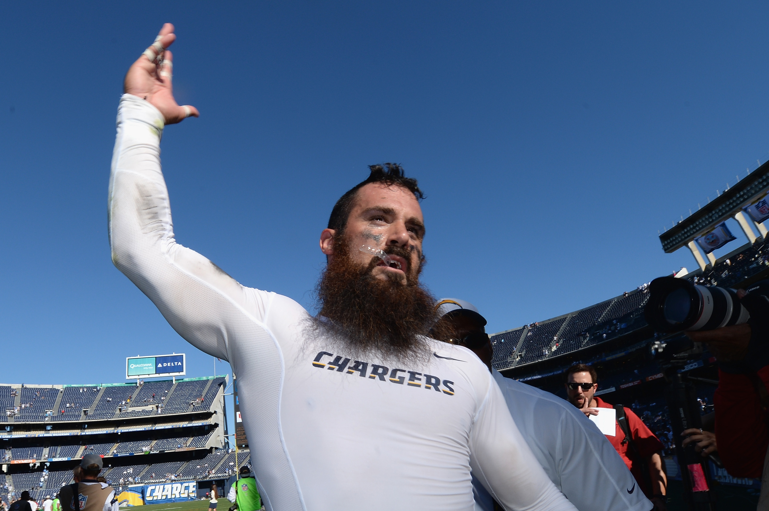 San Diego Chargers Safety Eric Weddle