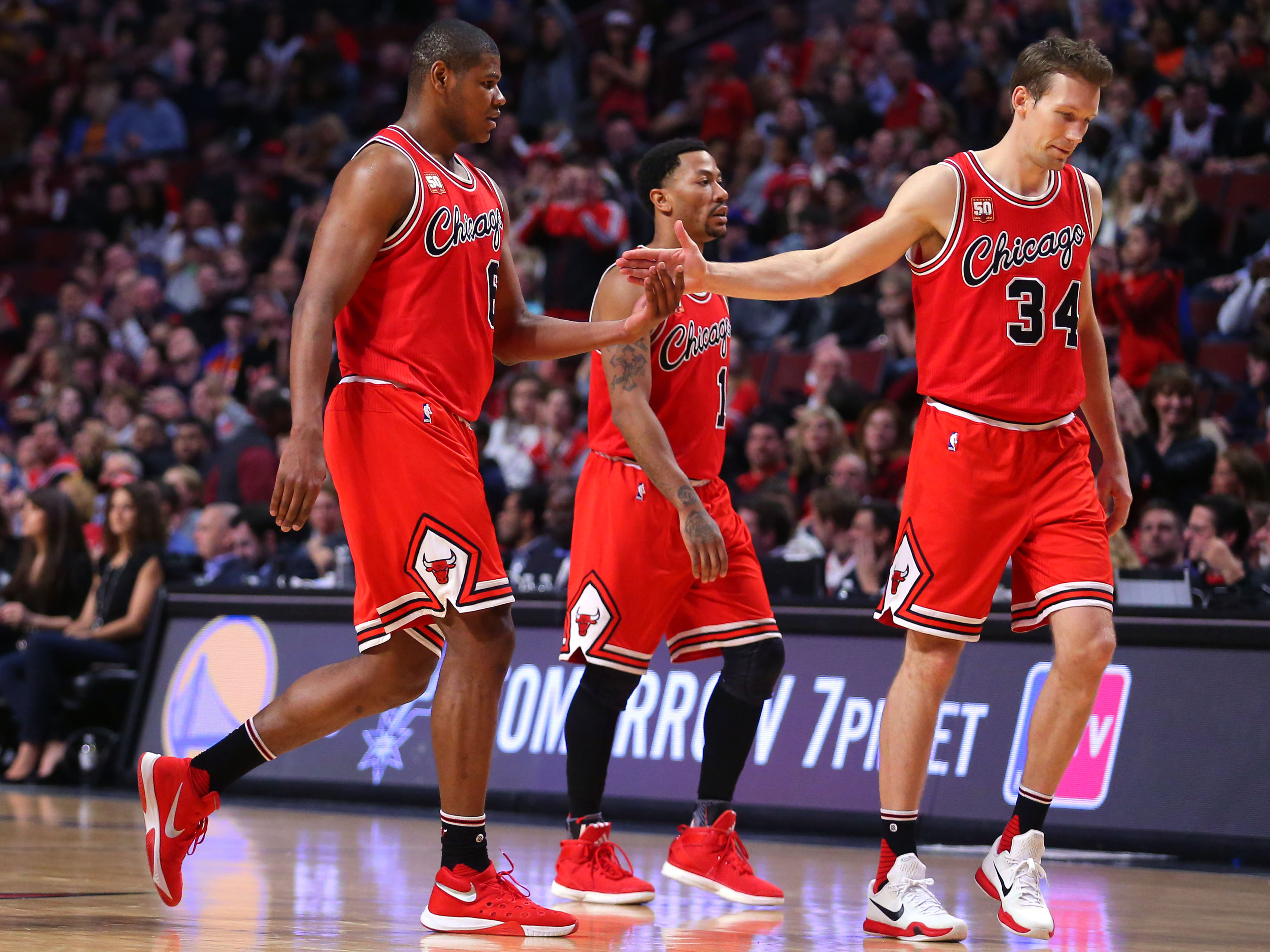 NBA scores 2016: The Bulls won, but it's probably too little, too late