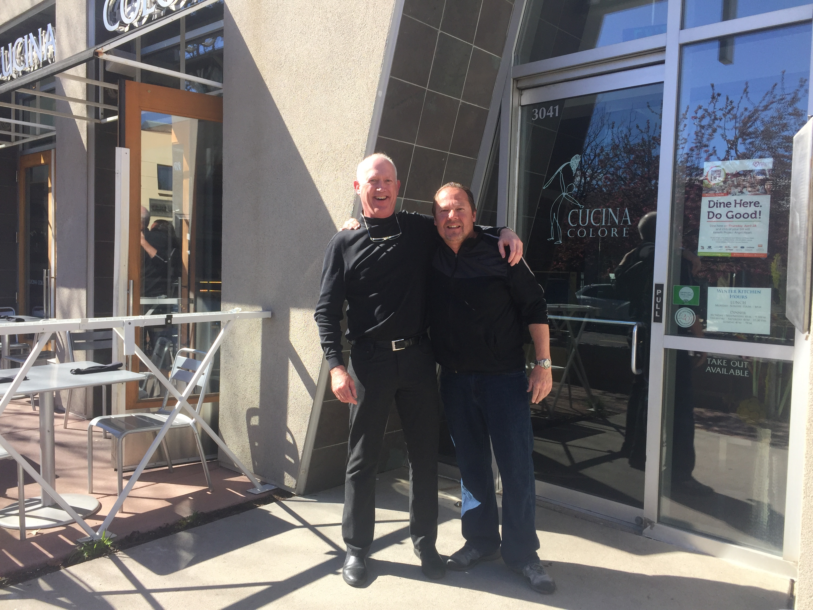 Jeff Sheppard and Venanzio Momo
