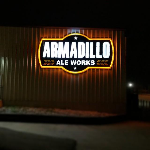 Armadillo Ale Works.