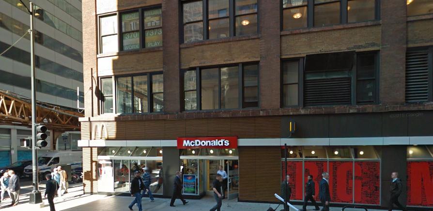 McDonald's at Adams and Wells