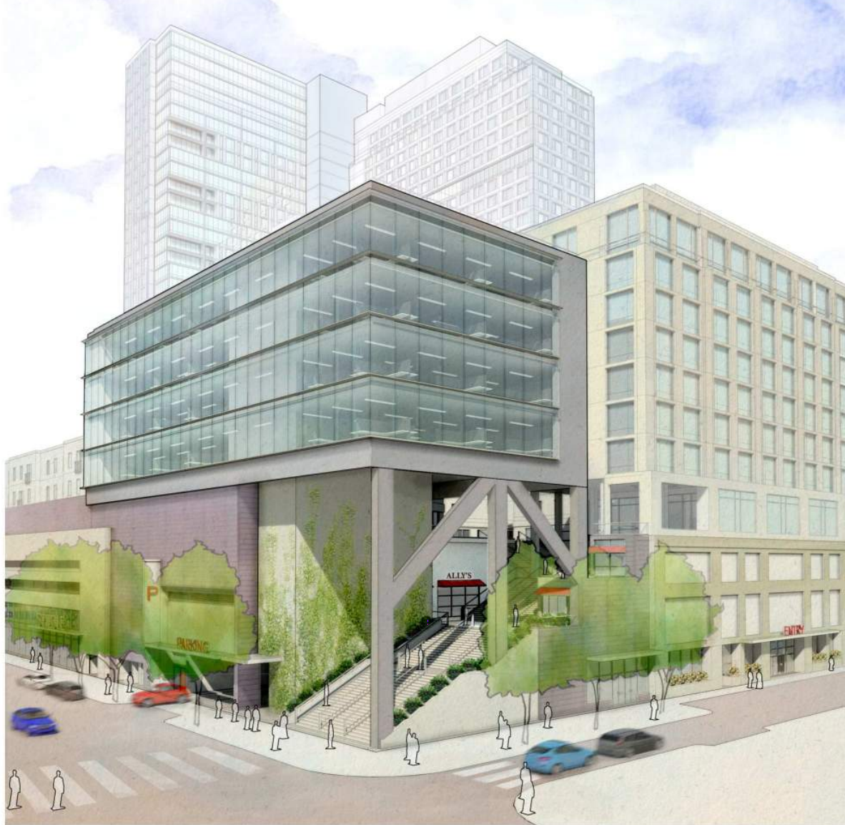 """The Design Advocacy Group called Bart Blatstein's proposed projects """"stunningly overbuilt."""""""