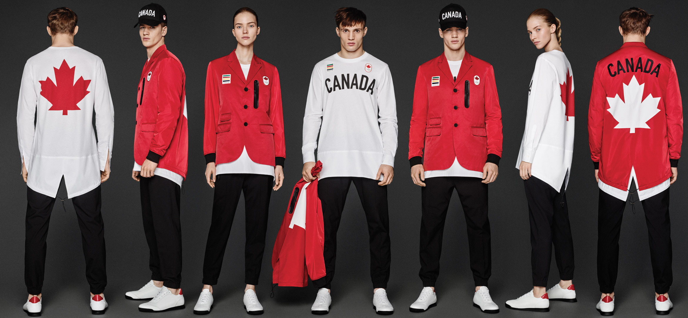 Dsquared2 Designed Team Canada's Uniforms for the 2016 Olympics Opening Ceremony