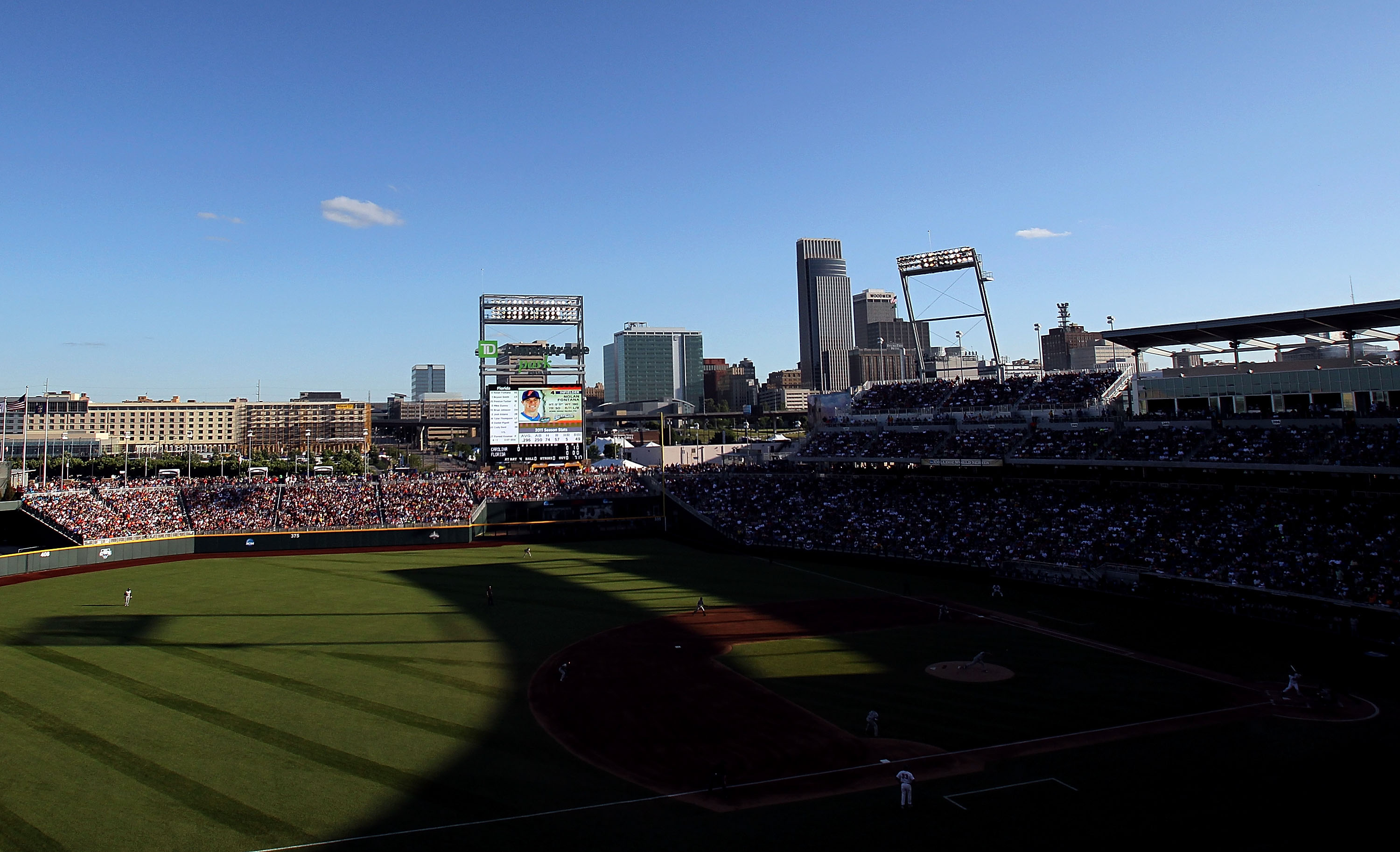 TD Ameritrade Park will host the B1G Tournament in 2016 as well as 2018-22.  Huzzah!