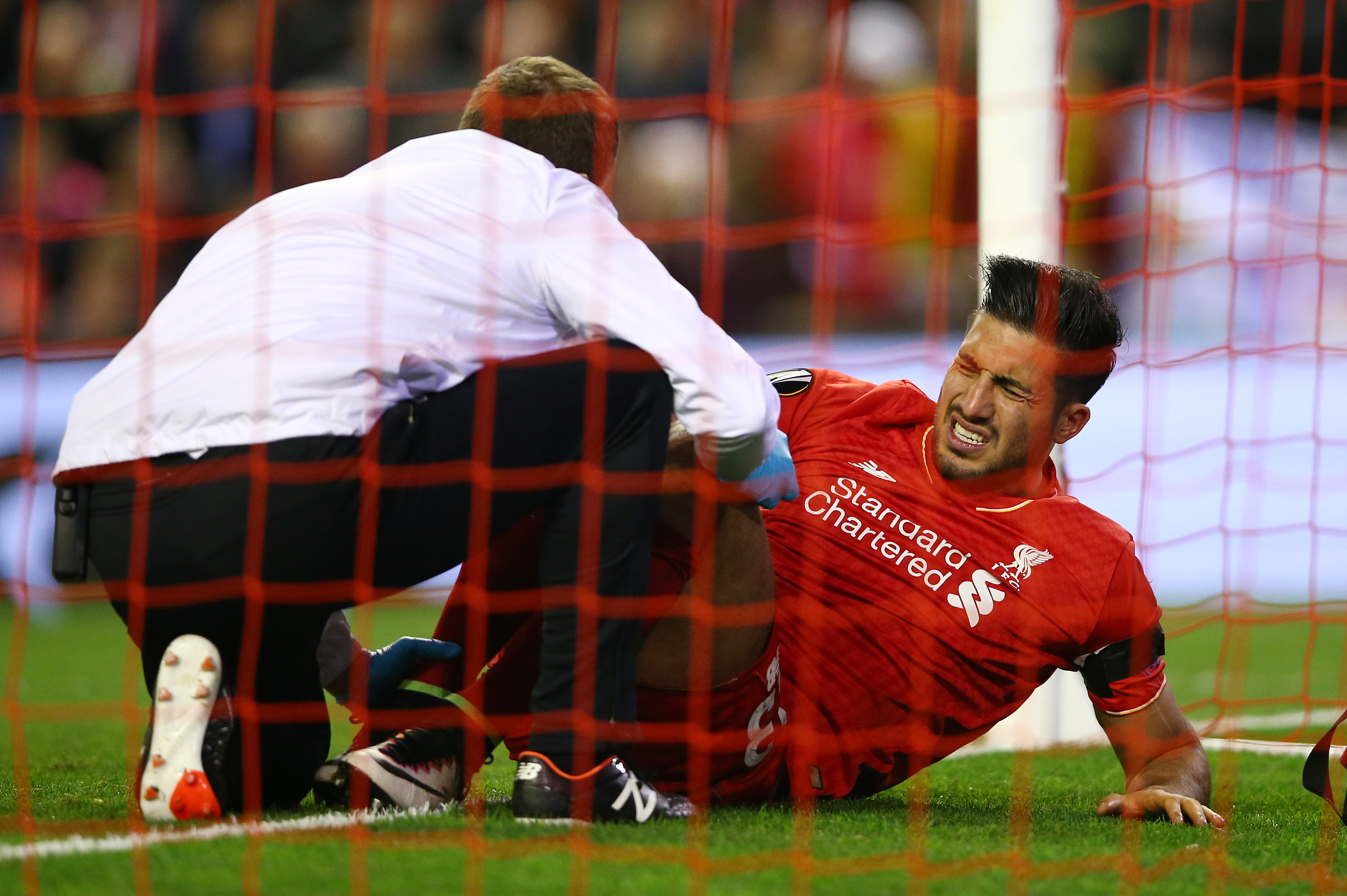 Emre Can Set For Foot Scan After Europa League Injury