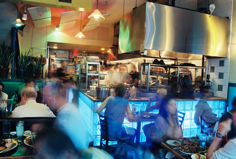 East Coast Grill before its closure