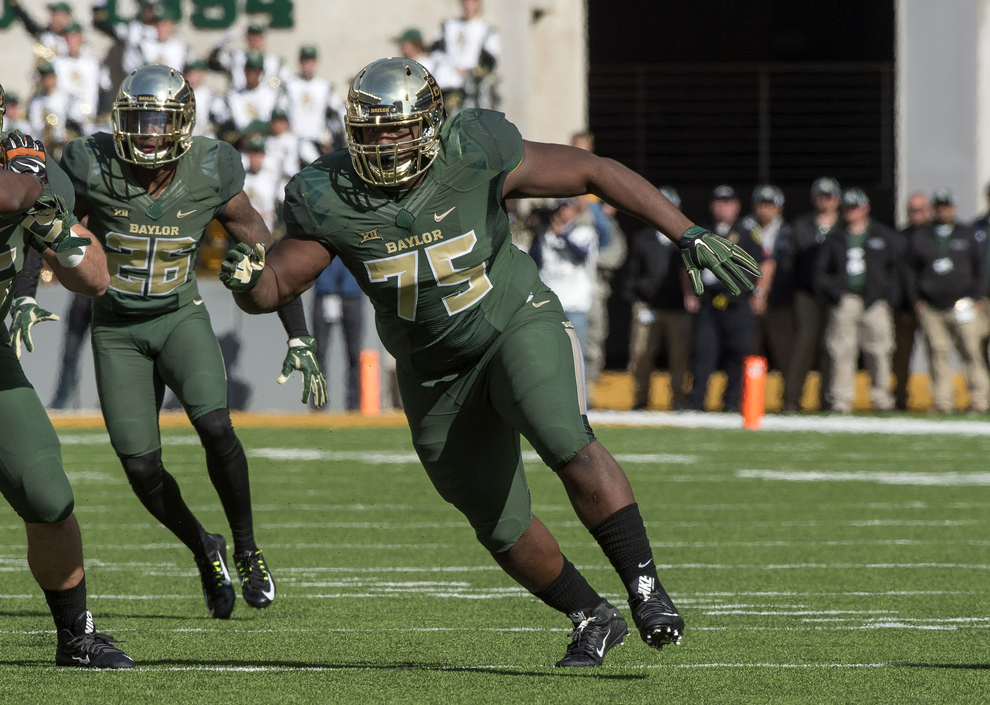 Because I use a picture of a wide receiver every week and there aren't many other options left, here's Andrew Billings.