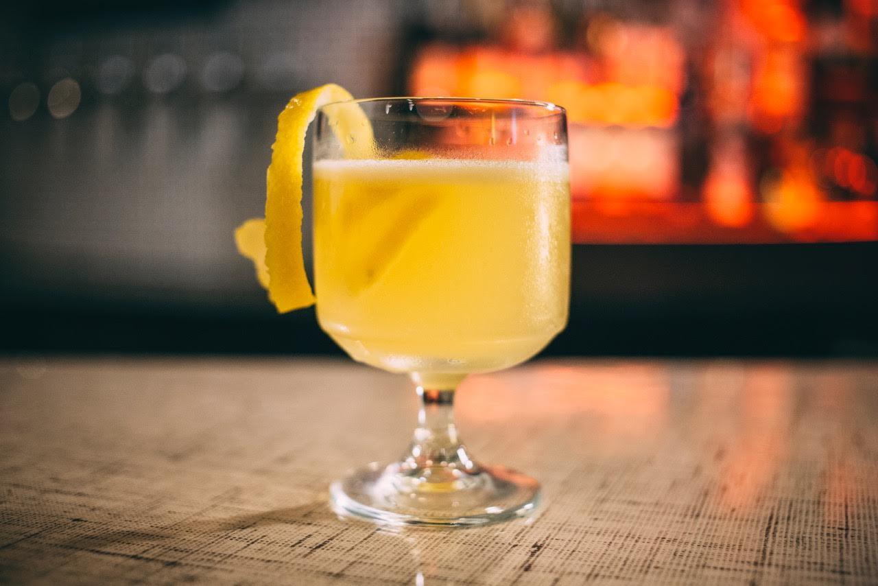 Moneygun's Bee's Knees cocktail.