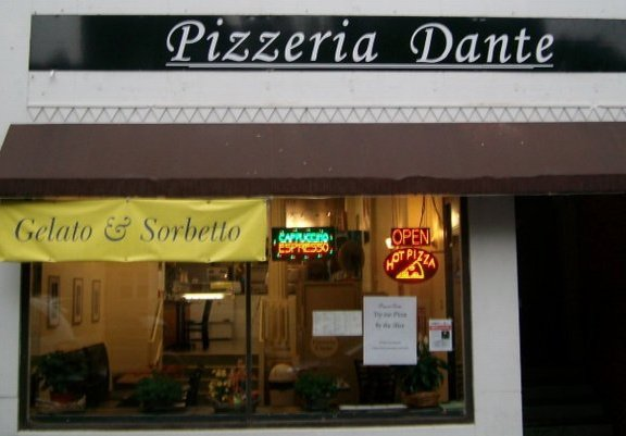 Pizzeria Dante's former location