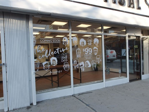 Cohen's Fashion Optical's concept shop