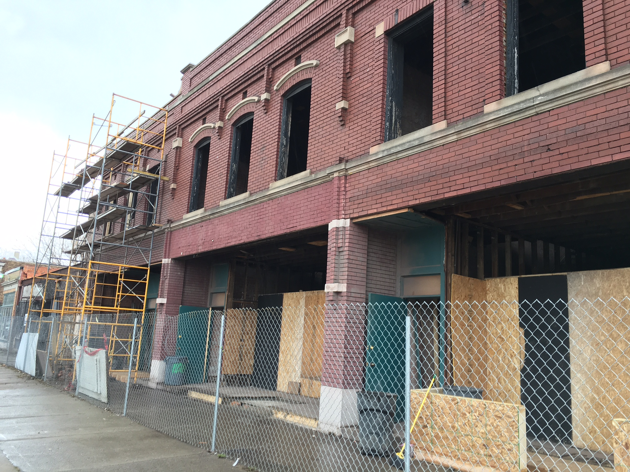 Geiger Eat Shop will occupy the ground floor and basement levels of a building on Kercheval near Sister Pie.