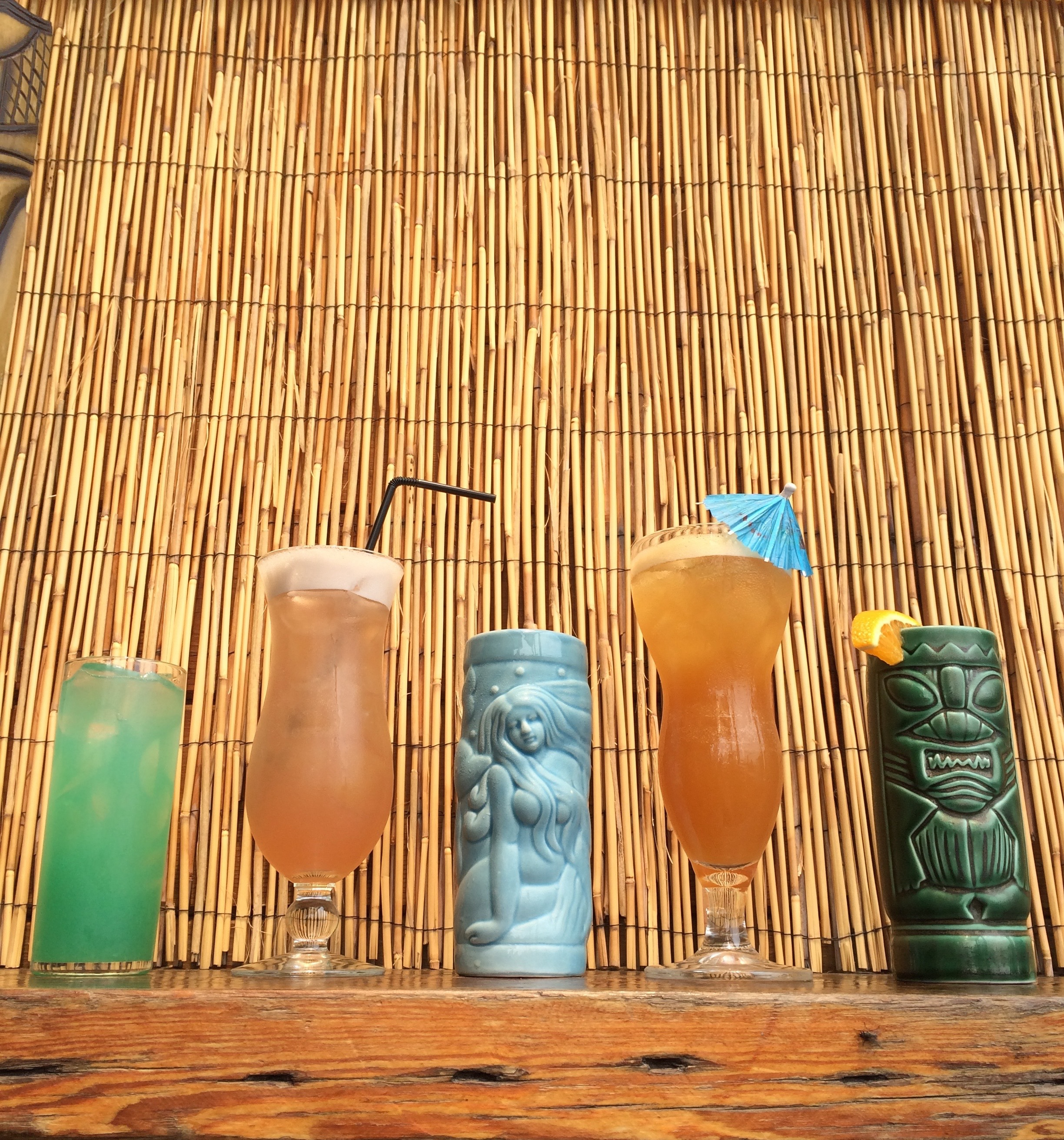 Tiki drinks at Jack Rose