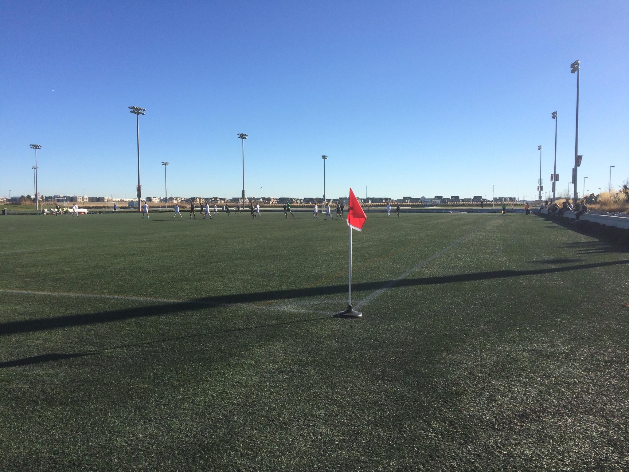Harpos FC vs Colorado Rush in November at DSGP
