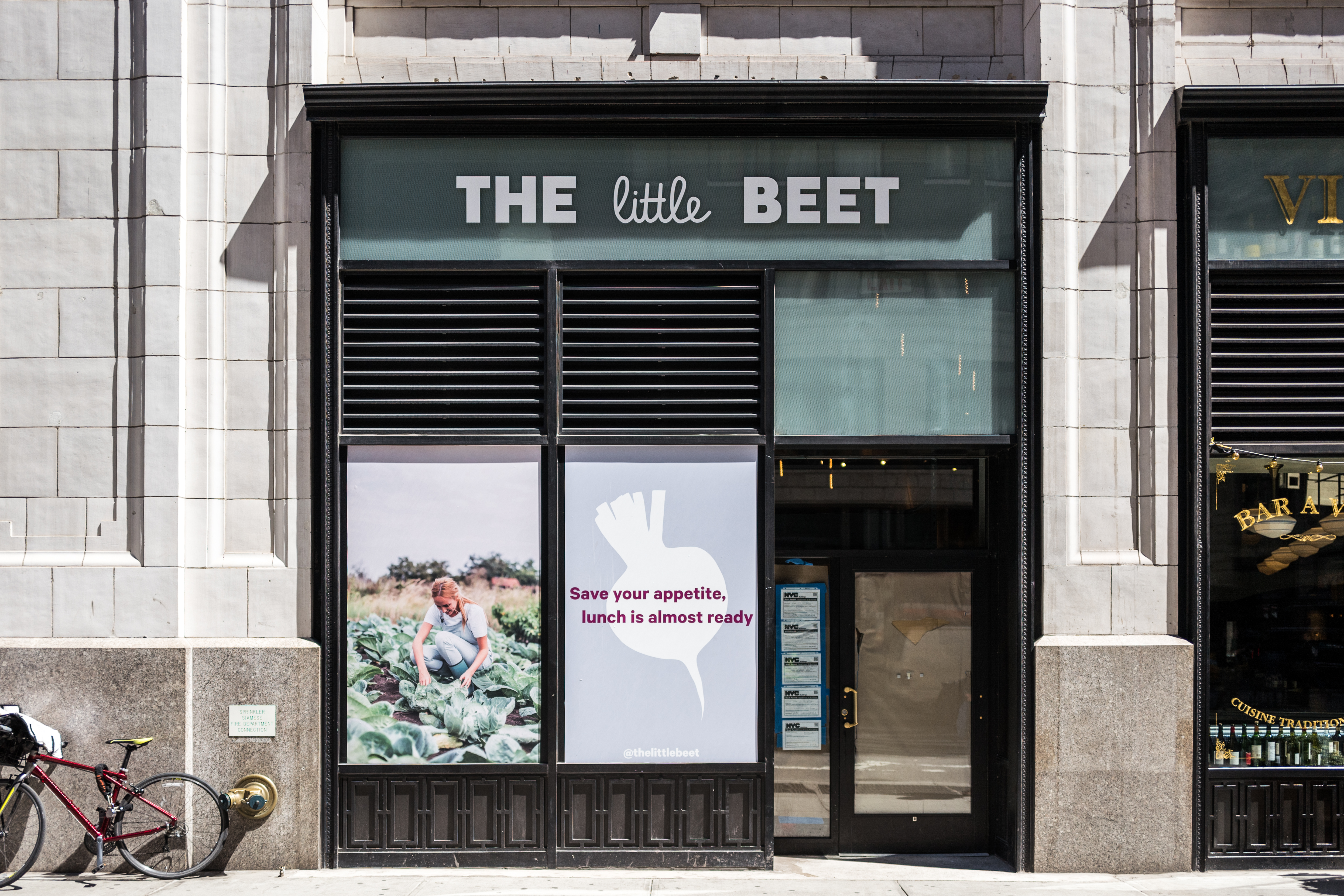 Franklin Becker's The Little Beet is opening soon on Broadway in the Flatiron District.