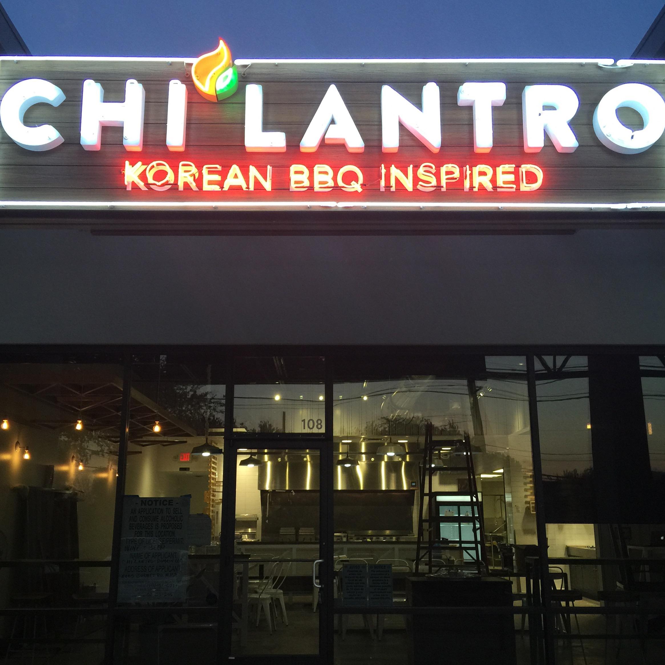 Chi'lantro's new spot