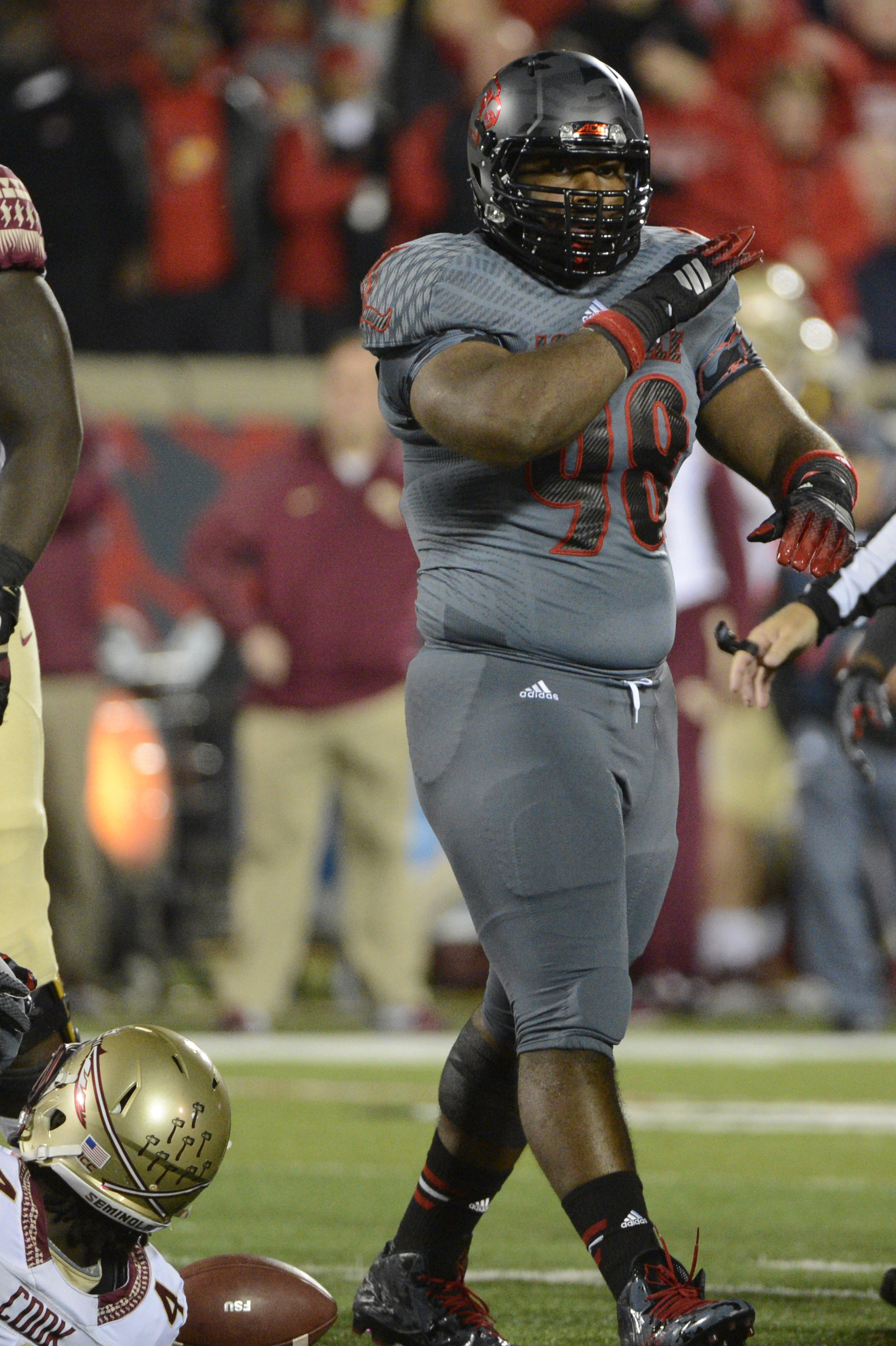 Sheldon Rankins hopes to be an impact player at the next level