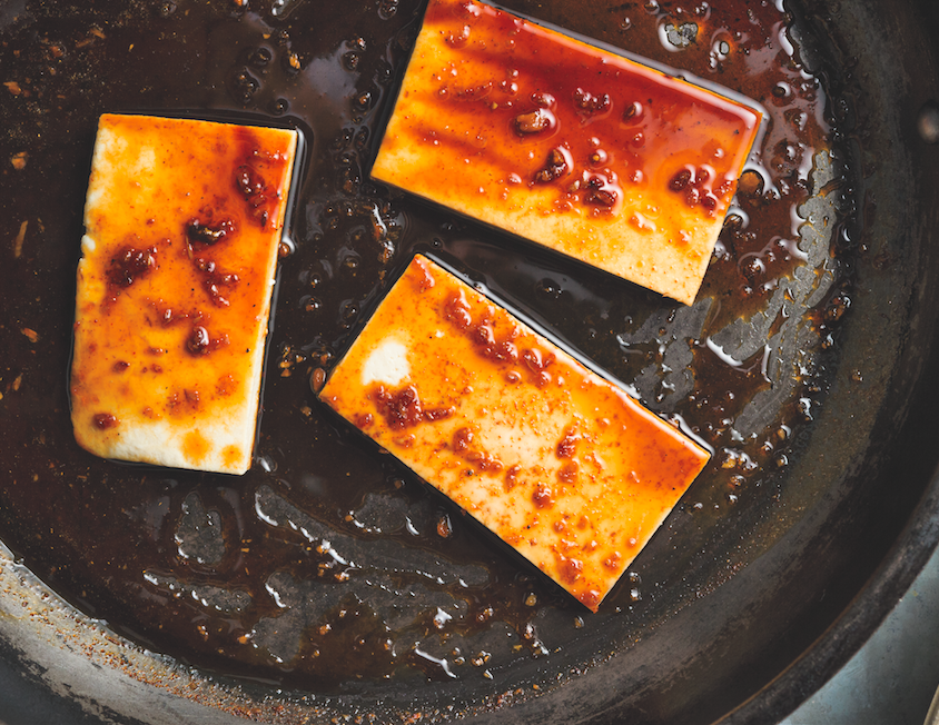 Recipe: Spicy Glazed Tofu From Num Pang Sandwich Shop