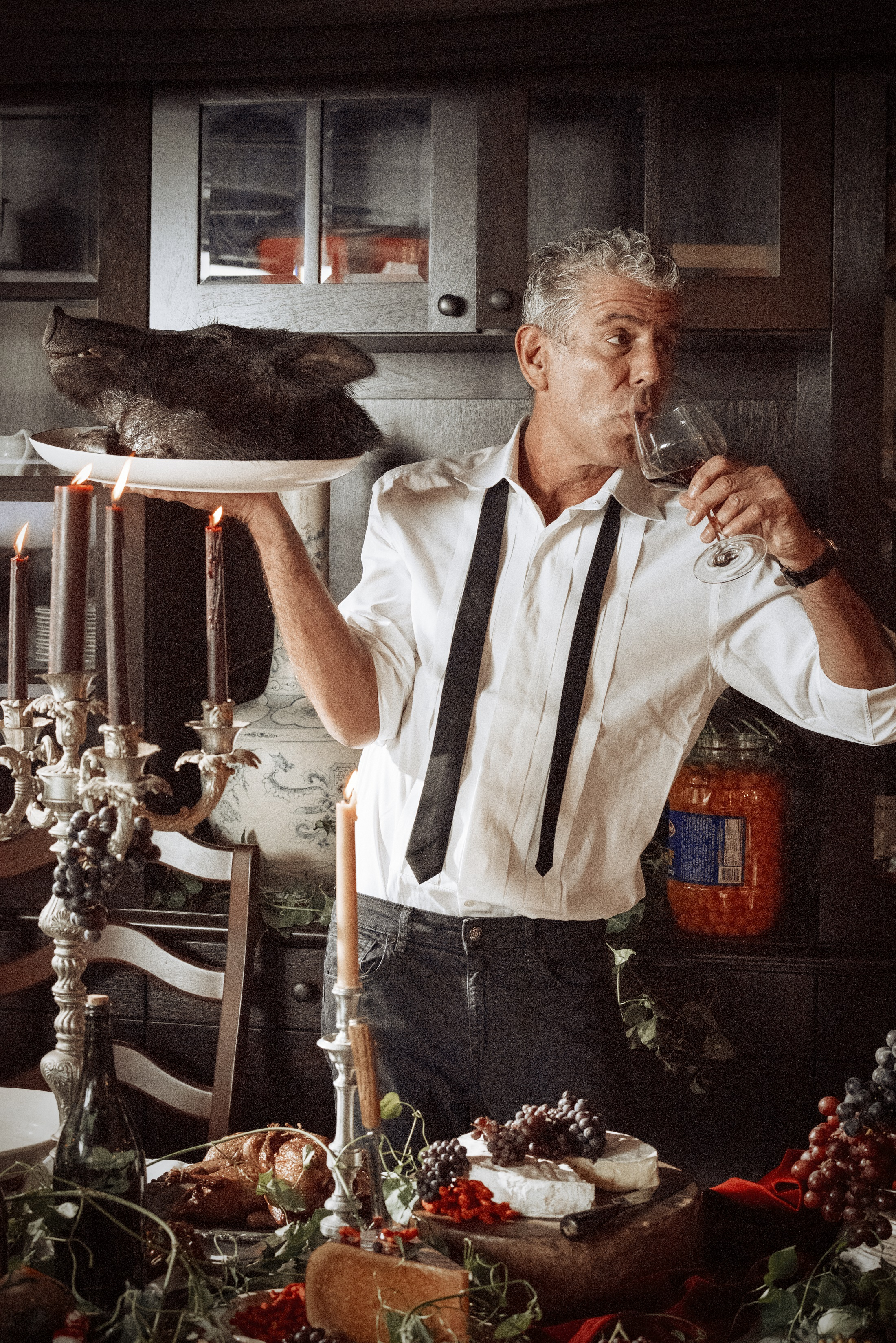 Anthony Bourdain's Next Live Tour to Hit 15 Cities This Fall