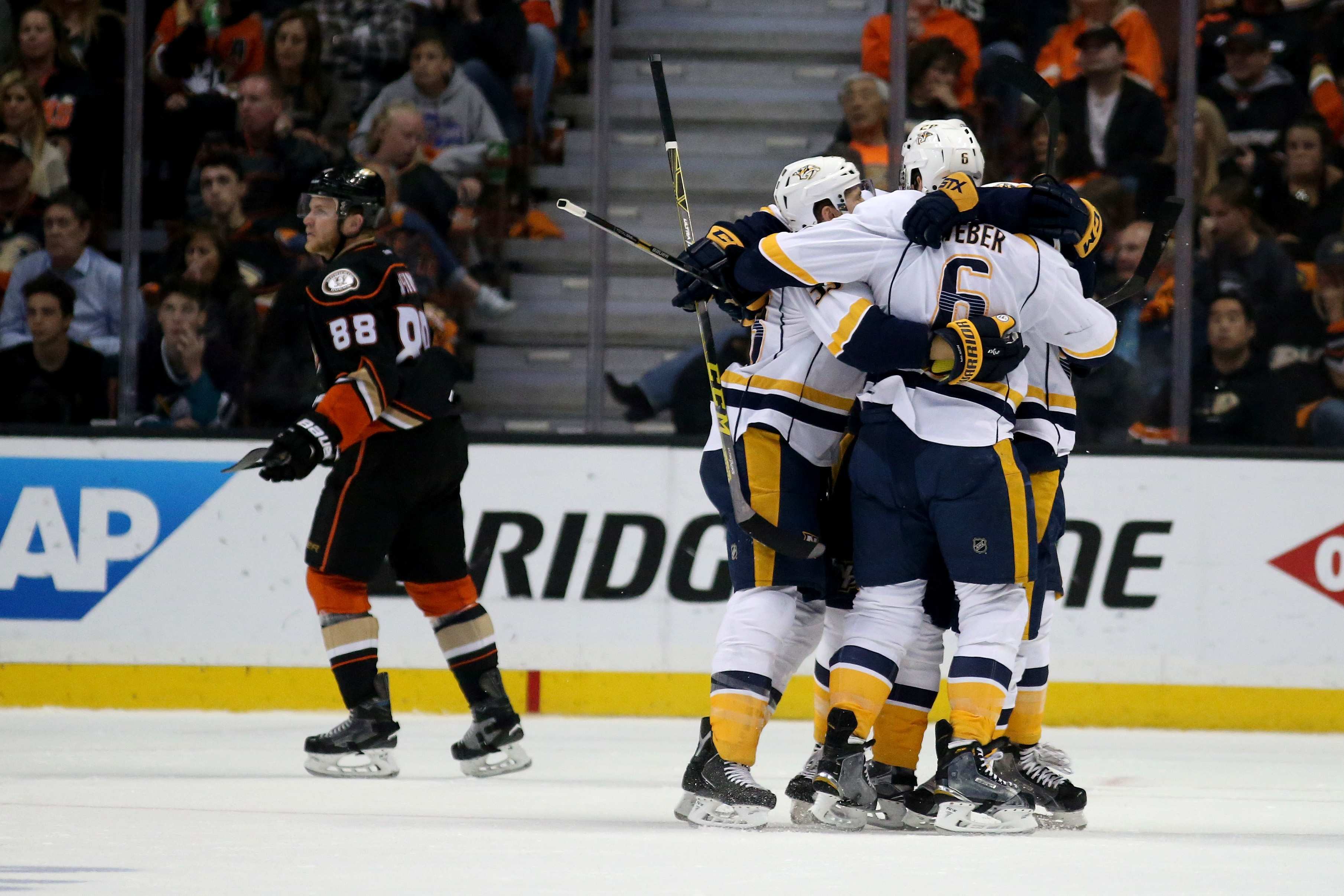 Predators advance to second round with Game 7 win over Ducks