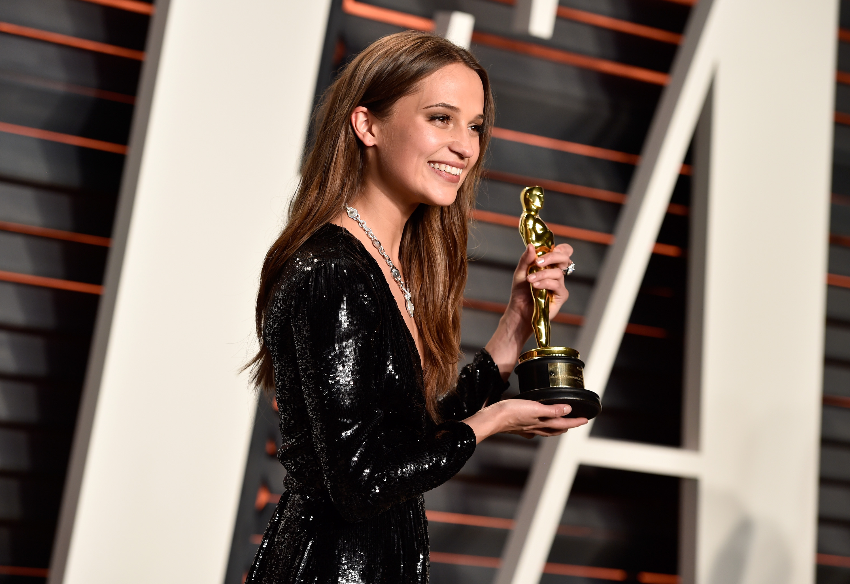 Alicia Vikander to play Lara Croft in Tomb Raider reboot