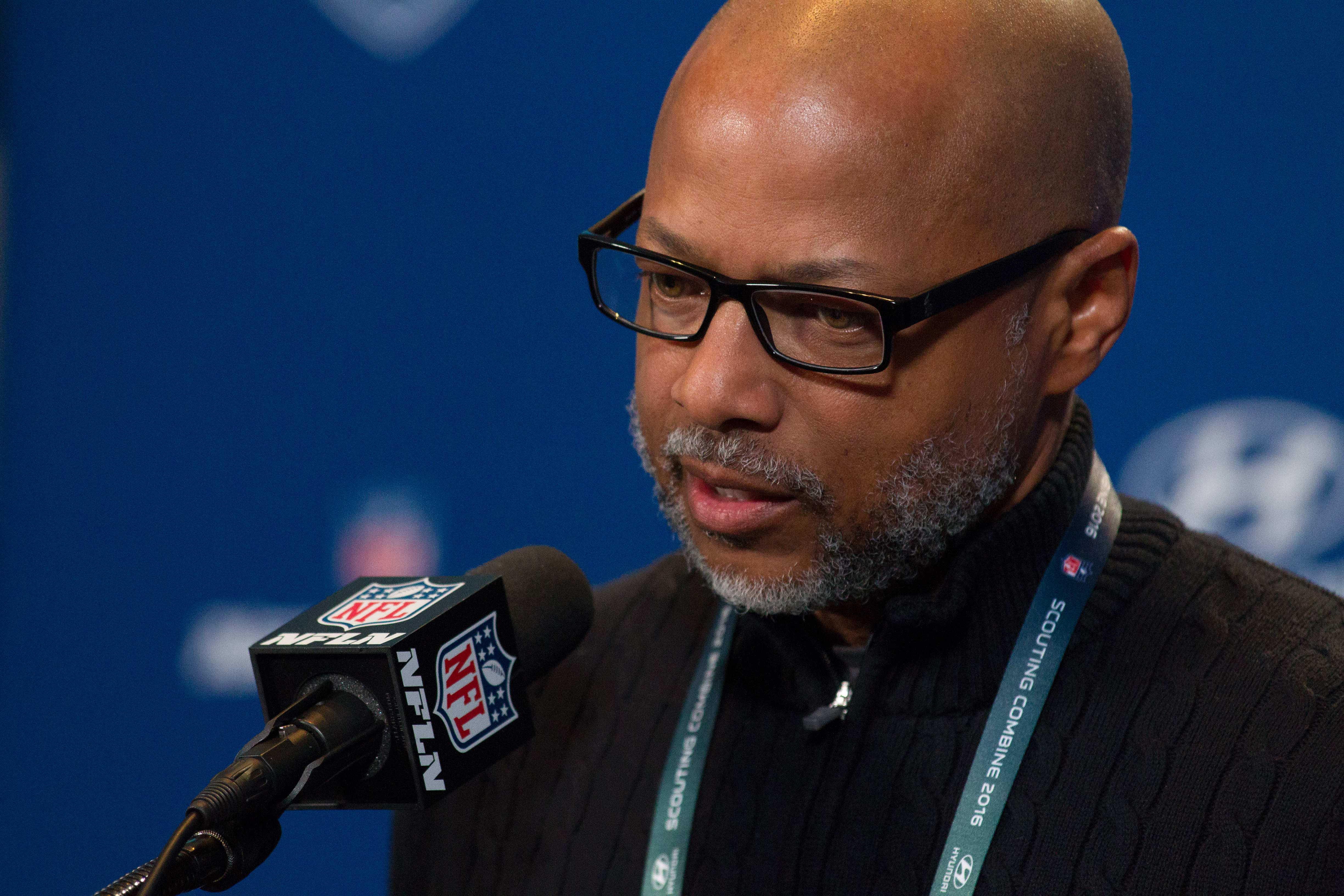 Giants general manager Jerry Reese