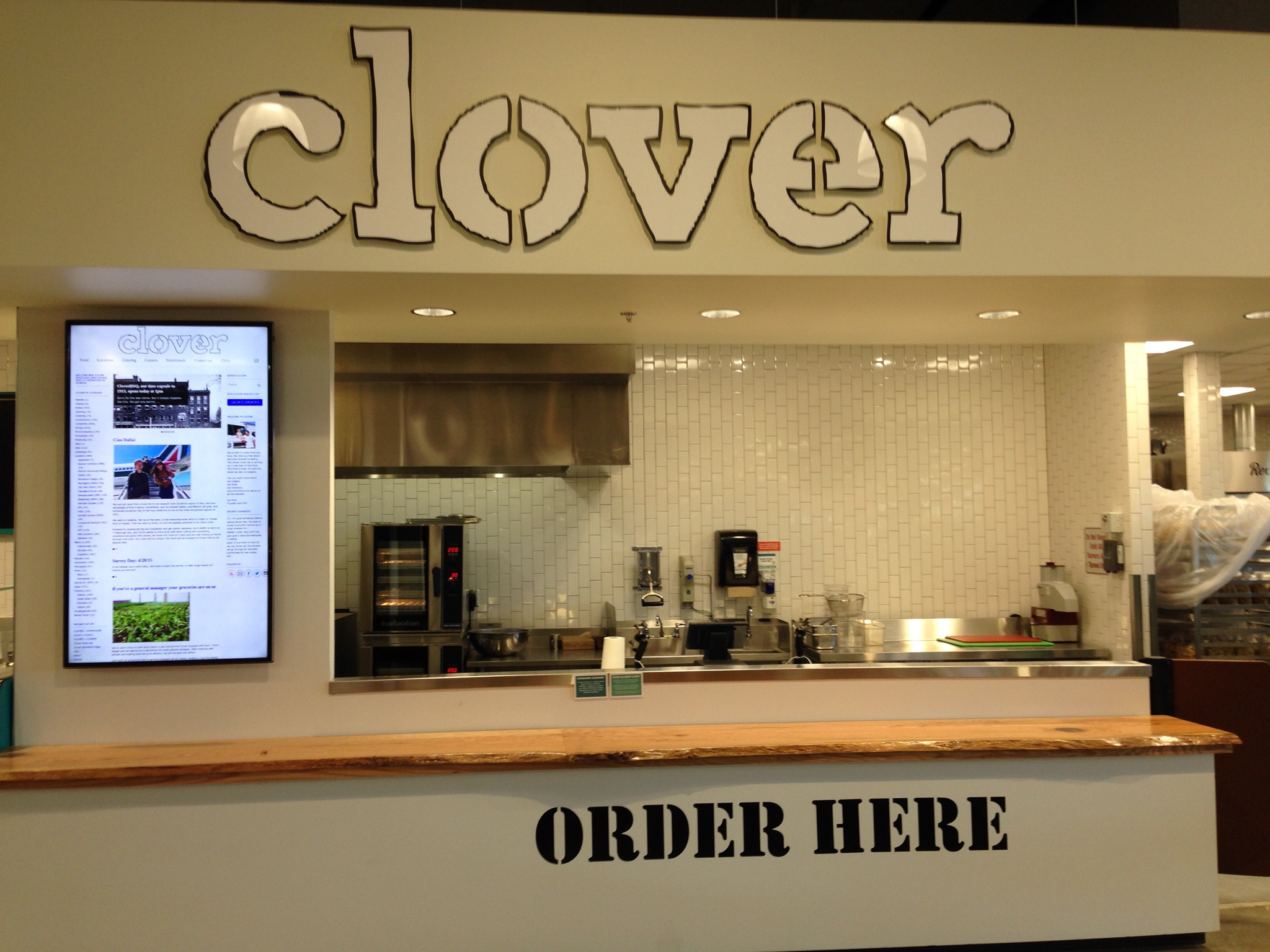 Clover in Westford's Whole Foods Market